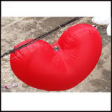 1.5m LED 발렌타인 데이 훈장을%s 팽창식 빨간 심혼 풍선
