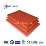 PVDFのアルミニウムパネル・ボード、装飾的な壁パネル、アルミニウムサンドイッチパネルの価格
