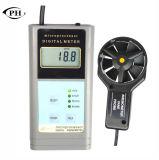 De handbediende Ultrasone Anemometer van de Stroom van de Lucht van de Meter van de Stroom