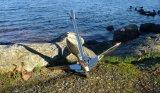 Acier inoxydable 316 Ancre de gravier pliable pour bateaux