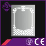 Jnh248浴室はBeauitfulパターンが付いている装飾的な壁ミラーLEDを映す