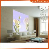 Ciel lumineux avec le papier peint de fleur pour le numéro à la maison de modèle de peinture à l'huile de décoration : Hx-5-034