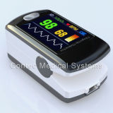 CE&FDA Finger Pulse Oximetry Color Display Oximeter con Software 24 Hours, Rechargeable