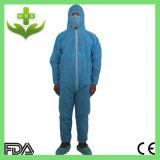 Wasserdichte Overall-Wegwerfarbeitskleidung
