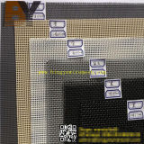 Engranzamento de fio do aço inoxidável de pano de fio da tela de segurança do disco do filtro