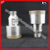 Broca de vidro Thread Shank Diamond Hole Saw