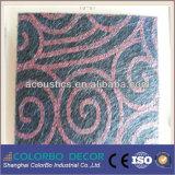 Écran antibruit de fibre de polyester d'isolation thermique de pièce d'enregistrement