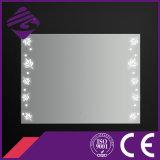 Jnh246浴室LED Beauitfulパターンが付いているライトによって照らされるセンサーミラー
