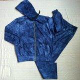 Roupa do fato de desporto do velo dos homens do inverno na roupa Fw-8681 do desgaste do esporte da forma