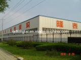 Struttura d'acciaio chiara prefabbricata della costruzione del blocco per grafici della tettoia del magazzino