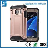SamsungギャラクシーS7/S7端のためのSgpの装甲携帯電話の箱