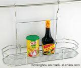 Présentoir s'arrêtant pratique en métal de ventes chaudes pour l'étalage de vaisselle de cuisine