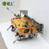 Kleine Aufbau-Maschine für die Wand, die Wiedergabe vergipst