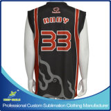 Basquetebol feito-à-medida Jersey do Sublimation