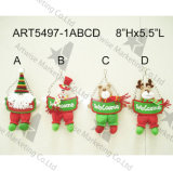 """14 """" H que colocan los juguetes flojos de la decoración de la Muñeco de nieve-Navidad de Santa"""
