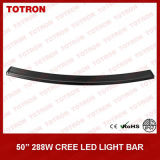 Lumen élevé 288W 50 Inch Curved Light Bar avec le CREE DEL Chip (TLB3288X)