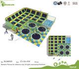 Lustiger Kind-Federelement-Trampoline-Park mit Schaumgummi-Vertiefung für Verkauf
