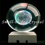 Trofeo cristalino de la bola 3D (ND4025)
