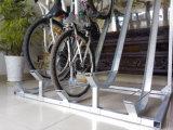 Напольный гальванизированный Semi вертикальный шкаф велосипеда