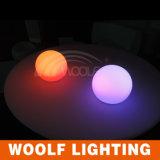 para o diodo emissor de luz ao ar livre e interno do uso iluminado em volta da esfera clara grande