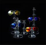 Stands acryliques de lunetterie de Countop, présentoirs de lunettes de soleil, 1 paire à 6 paires