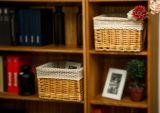 Cesta de mimbre hecha a mano del almacenaje con respetuoso del medio ambiente (BC-ST1021)