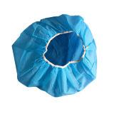 Cleanroom bedeckt Wegwerfnicht gesponnene Pöbel-Schutzkappe mit einer Kappe