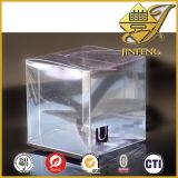Folha rígida do animal de estimação transparente elevado para caixas de dobramento
