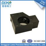 精密黒によって陽極酸化されるアルミニウムCNCの機械装置のコンポーネント(LM-305)
