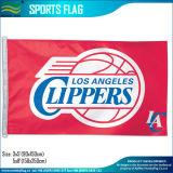バスケットボールマッチのスポーツチームロゴデザインフラグ(J-NF01F09042)