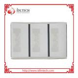 Cartão do branco do PVC RFID da freqüência ultraelevada do baixo custo