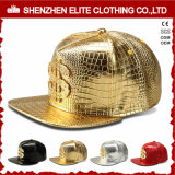 Hip Hopの人のカスタムロゴの革野球帽