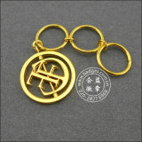 Boucle principale estampée par or creux, cadeau promotionnel (GZHY-KA-043)