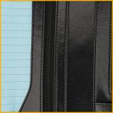 Het Uitvoerende Notitieboekje van de Dekking van het leer, het Geval van het Leer van het Notitieboekje van de Bevordering Pu, het Goedkope Notitieboekje van het Leer