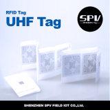 Tag ISO18000-6c do animal de estimação da logística do estrangeiro H4 RFID