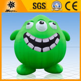 2.5m Green Inflatable Three Eyes Monster Mascot (BMLW09)