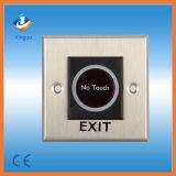 Botón alejado sin hilos de la salida del sistema del control de acceso/ningún botón de la salida del tacto