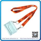 선물을%s 폴리에스테 나일론 방아끈을 인쇄하는 다채로운 주문 로고 Heatransfer