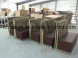 La fábrica modifica la cabina del sofá para requisitos particulares del restaurante de 2 Seater (FOH-XM34-632)