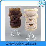 2016 vêtements de chiot de couche de crabot d'accessoires d'animal familier de l'hiver petits