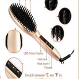 balai en céramique de redresseur du cheveu 110V-240V avec le chauffage de Mch