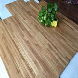 UV laquée Neuf bandes Smooth Natural Multilayer Oak Wood Floorings