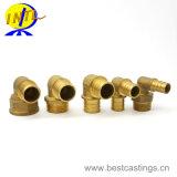 Instalación de tuberías de cobre amarillo de encargo del OEM de la alta calidad