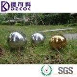 Esfera de hueco redonda del acero inoxidable del espejo de la bola de la depresión del metal de 4 pulgadas