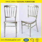 Cadeira de Napoleon da cadeira do casamento do metal para o evento do banquete