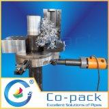 Aufgeteilte Rahmen-Rohr-Wand-Schnitt-Schrägfläche und Drehung-Maschine