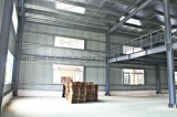 De geprefabriceerde Bouw van de Workshop van het Pakhuis van het Staal Industriële binnen Goede Prijs