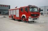 Coche de bomberos HOWO Marca con 8m3 tanque de agua