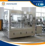 Máquina de engarrafamento de enchimento da bebida do gás