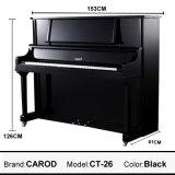 Ebony Black 126cm Vertical Piano